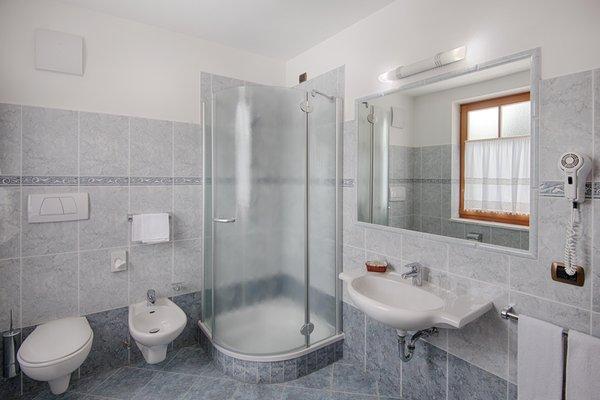 Foto del bagno Garni-Hotel + Appartamenti Elisir