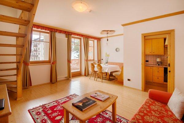 La zona giorno Elisir - Garni-Hotel + Appartamenti 3 stelle