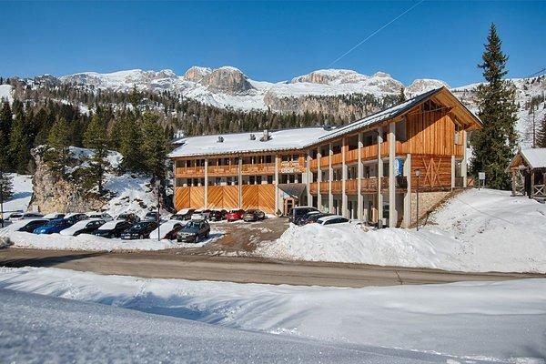 Foto invernale di presentazione Garni-Hotel + Appartamenti Elisir