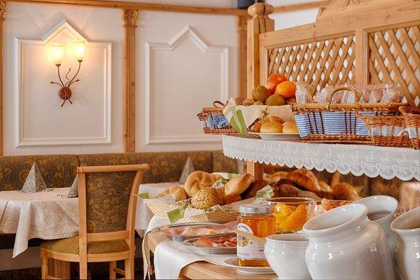 La colazione Garni-Hotel + Appartamenti Elisir