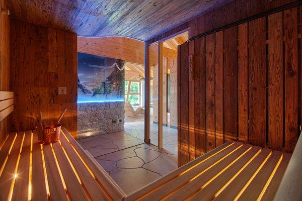Foto della sauna Passo Campolongo