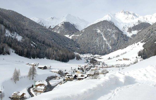 Foto invernale di presentazione Valle Aurina - Associazione turistica