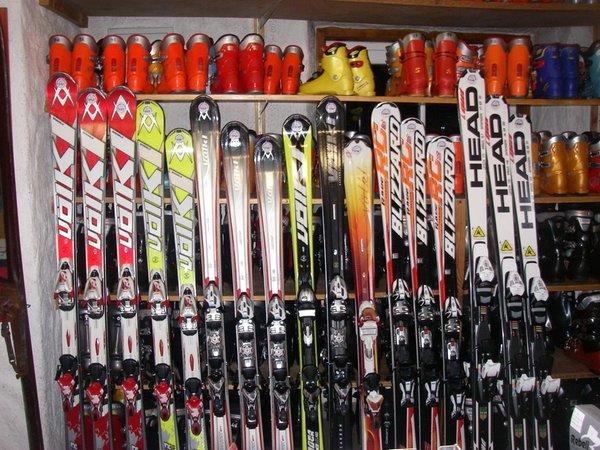 Foto einiger Details  Hermann's Skistadl