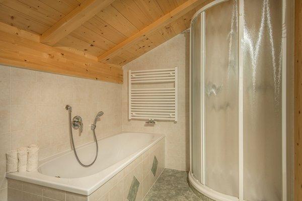 Foto del bagno Appartamenti Col da Vënt