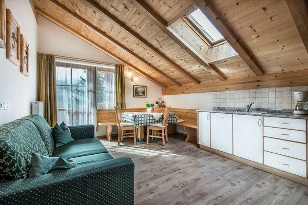 The living area Apartments Col da Vënt