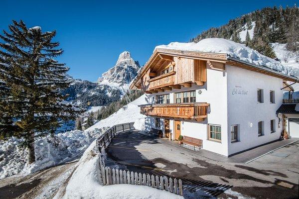Foto invernale di presentazione Appartamenti Col da Vënt