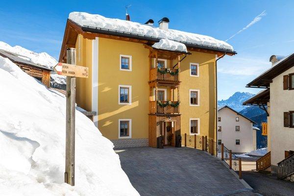 Foto invernale di presentazione Appartamenti Cèsa Raggio di Sole