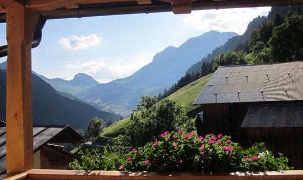 Foto del balcone Cèsa Raggio di Sole
