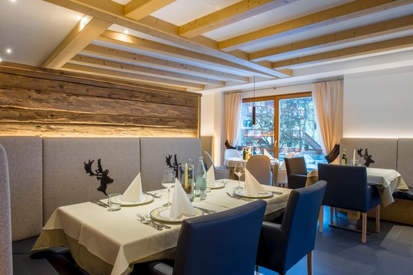 Il ristorante Alba di Canazei (Canazei) Albolina