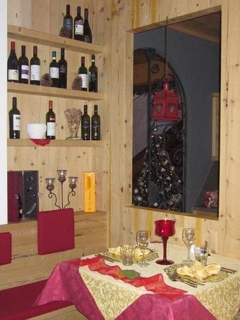 The restaurant Canazei Azola