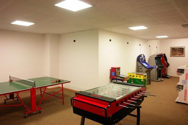 La sala giochi Hotel Cèsa Tyrol