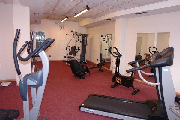 Foto della zona fitness Hotel Cèsa Tyrol