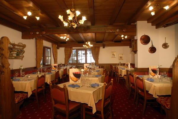 Il ristorante Penia di Canazei (Canazei) Dolomites Inn