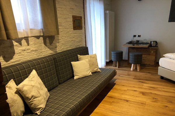 La zona giorno Joy B&B Fedaia - Bed & Breakfast 3 stelle