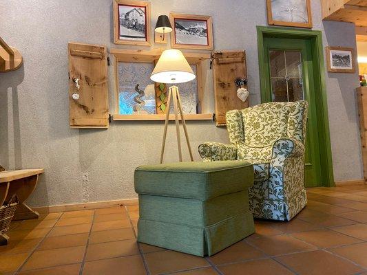 Der Wohnraum Joy B&B Fedaia