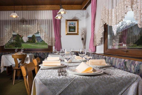 Il ristorante Canazei Dolomiten Hotel Irma