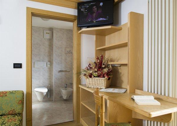 Foto del bagno Dolomiten Hotel Irma