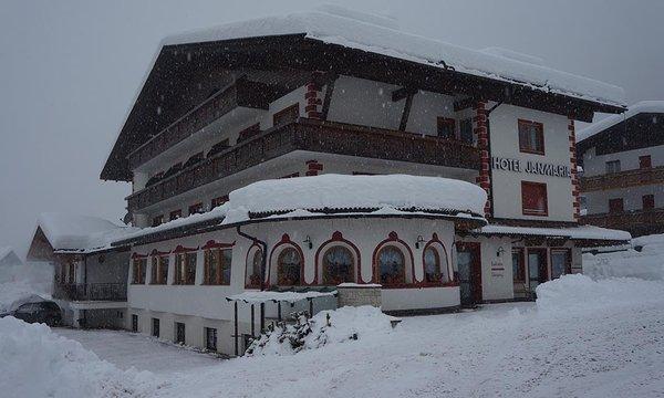 Foto invernale di presentazione Jan Maria - Albergo 3 stelle sup.