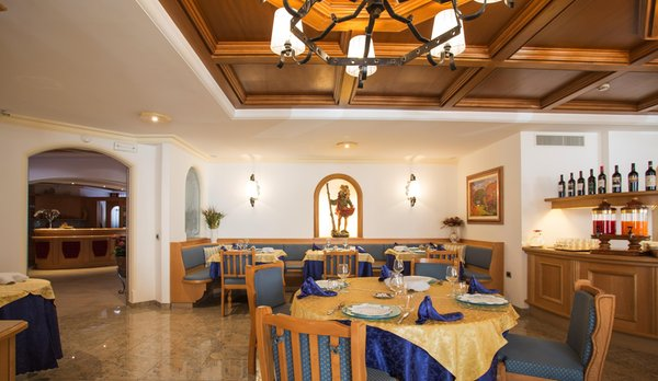 Il ristorante Canazei Jan Maria