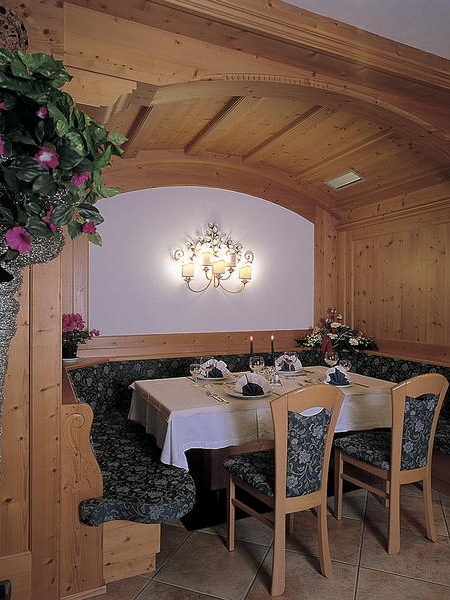 Il ristorante Canazei Piccolo Hotel