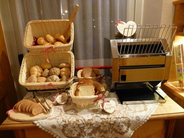 La colazione Villa Adria - Hotel 3 stelle