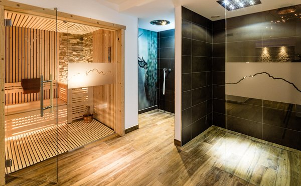 Foto della sauna Alba di Canazei