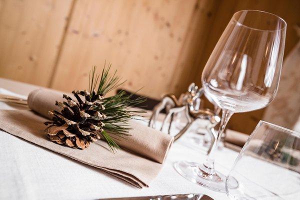 Il ristorante Alba di Canazei (Canazei) Alpine Boutique Villa Cristina