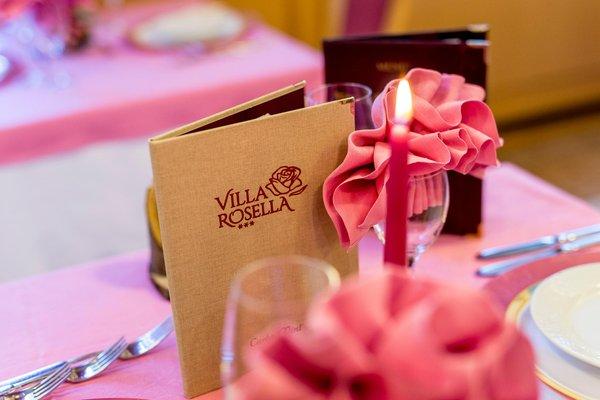 Il ristorante Canazei Villa Rosella