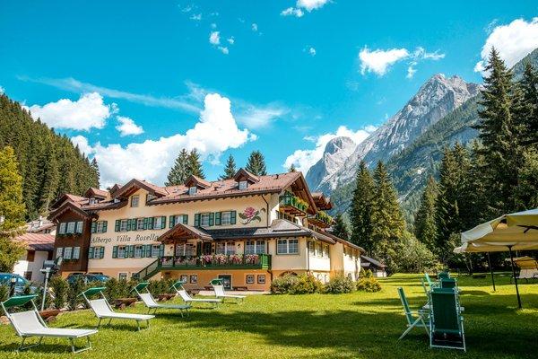 Foto estiva di presentazione Hotel Villa Rosella