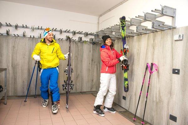 La skiroom Hotel Villa Rosella
