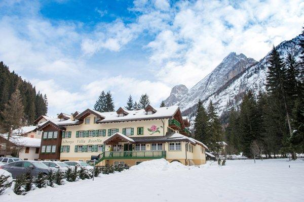 Foto esterno in inverno Villa Rosella