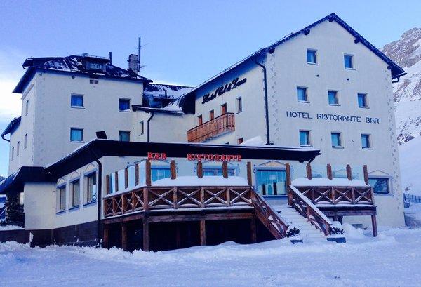 Foto invernale di presentazione Albergo Col di Lana