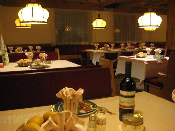 Il ristorante Canazei Oswald