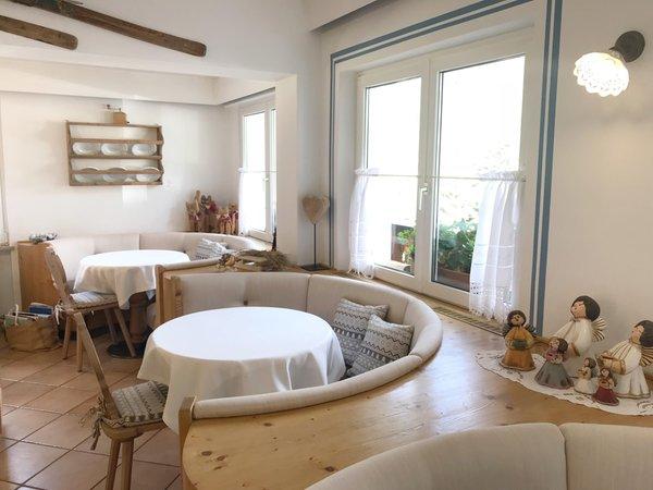 Il ristorante Alba di Canazei (Canazei) Sassleng