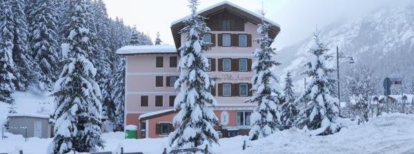 Foto invernale di presentazione Villa Agomer - Albergo 2 stelle