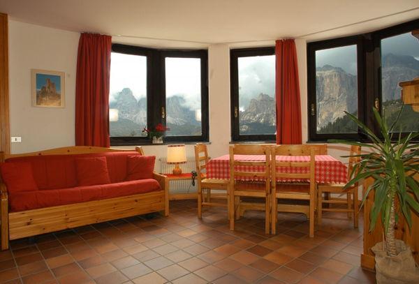 La zona giorno Gonzaga - Hotel + Residence 3 stelle