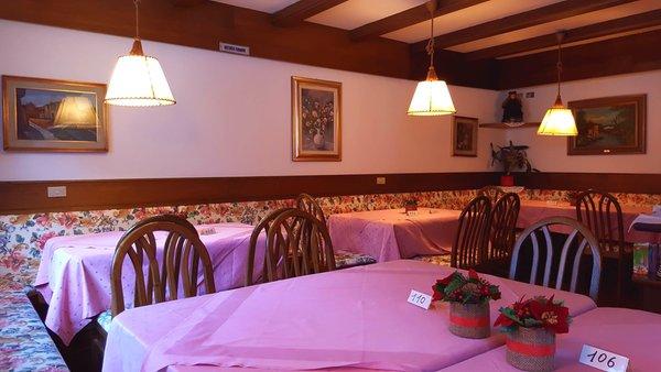 Il ristorante Alba di Canazei (Canazei) Garni Edy