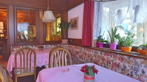 The restaurant Alba di Canazei (Canazei) Garni Edy