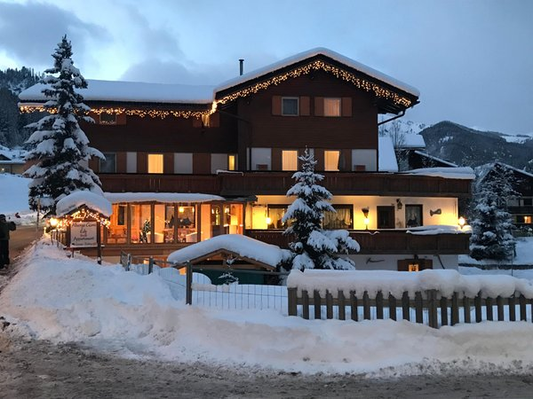 Winter Präsentationsbild B&B-Hotel Garni Edy