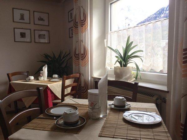 Il ristorante Canazei Serena
