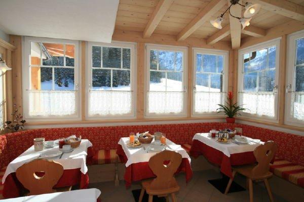 Il ristorante Alba di Canazei (Canazei) Villa Paola