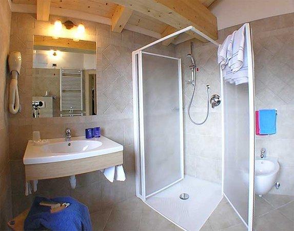Foto del bagno Camere con prima colazione El Sangon