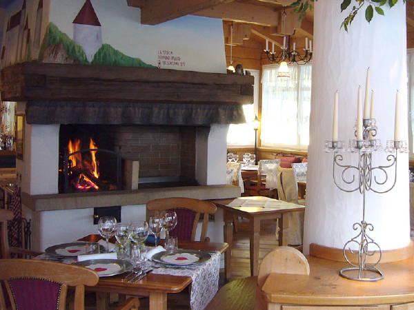 Il ristorante Canazei Monti Pallidi