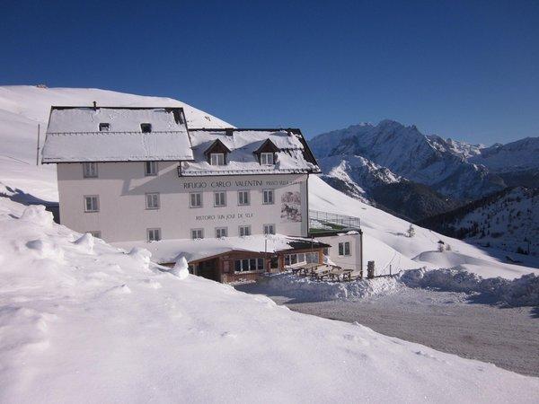 Foto esterno in inverno Carlo Valentini