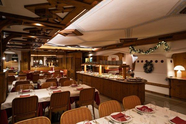 Il ristorante Campitello di Fassa Medil Wellness & Beauty