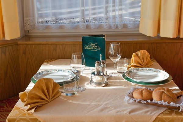 Il ristorante Campitello di Fassa Alaska