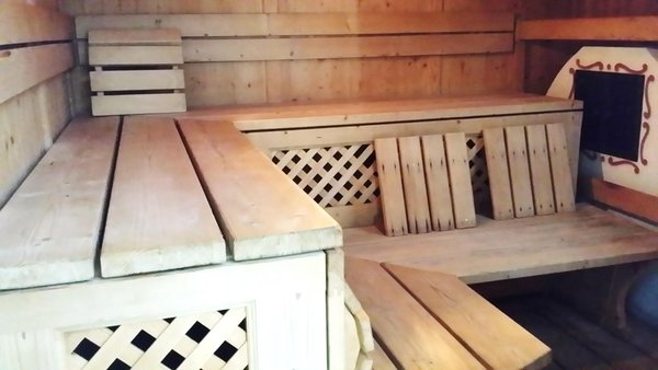 Photo of the sauna Campitello di Fassa