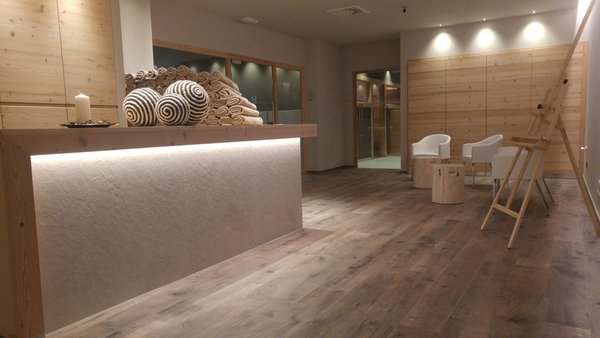 Photo of the wellness area Hotel Flora Alpina