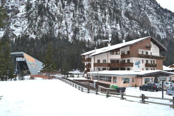 Foto invernale di presentazione Park Hotel Fedora - Hotel 3 stelle