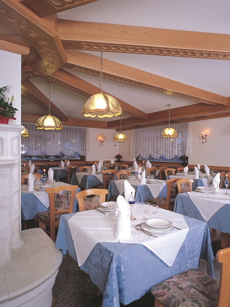 Il ristorante Campitello di Fassa Sella Ronda